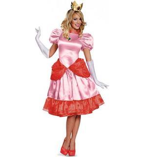 Déguisement Princesse Peach? Deluxe Femme