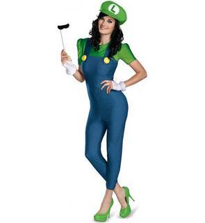 Déguisement Luigi? Deluxe Femme