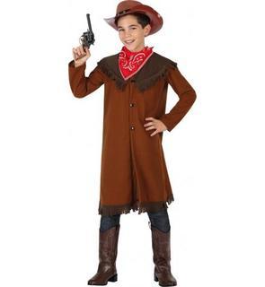 Déguisement cowboy marron garçon