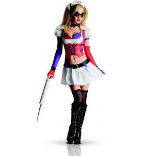 Déguisement Harley Quinn infirmière Arkham City? femme