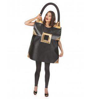 Déguisement sac noir femme