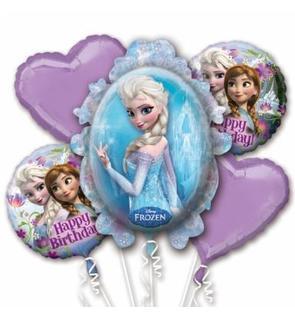 Bouquet de ballons La Reine des Neiges?