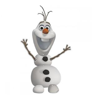 Décoration Olaf à suspendre - Reine des Neiges