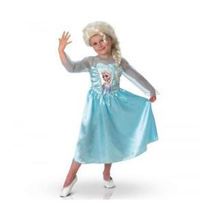 Rubie's Déguisement La Reine des Neiges (Frozen) : Elsa avec Perruque : 3/4 ans