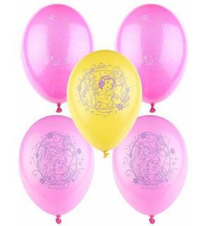 5 Ballons Princesses Disney?