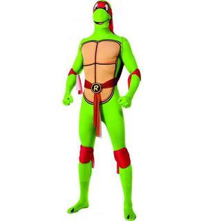 Déguisement Raphael Tortues Ninja? second peau adulte
