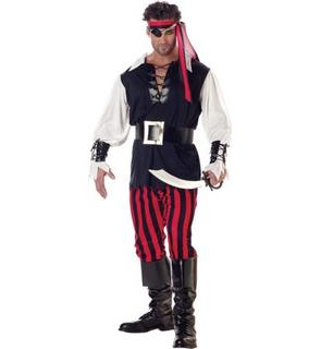 Déguisement  Pirate assassin adulte