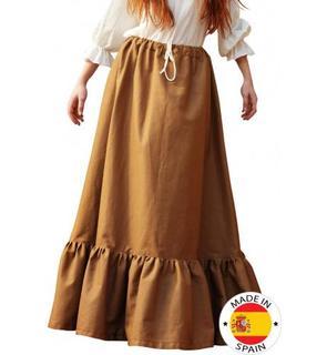 Jupe paysanne médiévale  femme - Premium