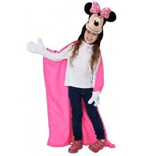 Plaid à capuche Disney Minnie? fille