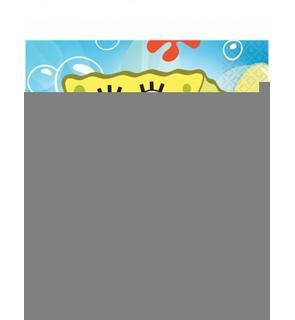 20 Serviettes en papier Bob l'éponge? 33 x 33 cm