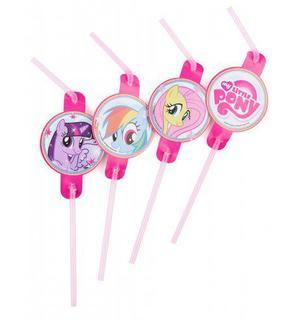 8 Pailles My little Pony?