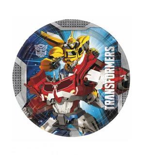 8 Assiettes 23 cm Transformers?