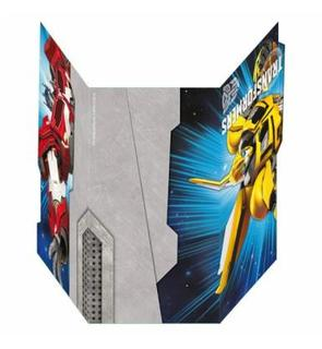 6 Cartes d'invitation Transformers?