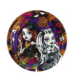 8 Assiettes Monster High?
