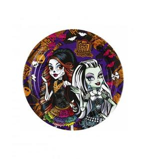 8 Petites assiettes Monster High?