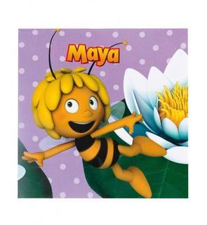 20 Serviettes en papier Maya l'abeille? 33 x 33 cm