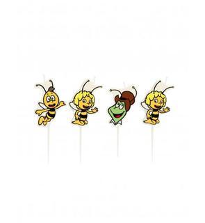 4 Petites bougies Maya l'abeille?