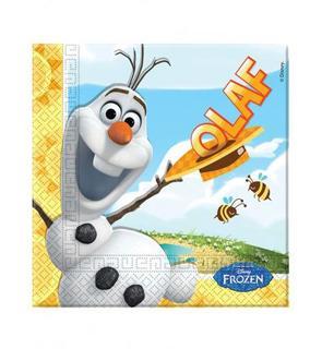 20 Serviettes en papier Olaf? 33 x 33 cm