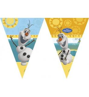Guirlande fanions Olaf?