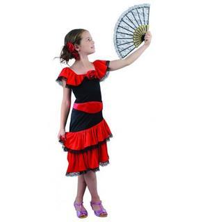 Déguisement flamenco fille