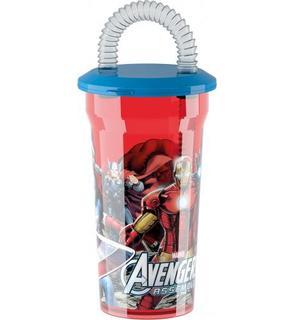 Verre avec paille Avengers?