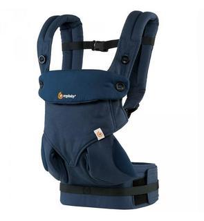 Porte-bébé physiologique 4 positions 360 bleu nuit