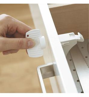 Bloque magnetique mag lock blanc